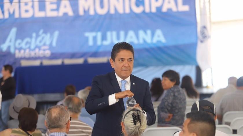 Este domingo en Tijuana habrá elecciones internas en el Partido Acción Nacional (PAN) para elegir al presidente e integrantes del Comité Directivo Municipal 2019-2020.(Gustavo Suárez)