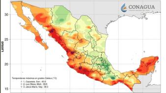 Esperan bajos valores mínimos de temperatura en Sonora
