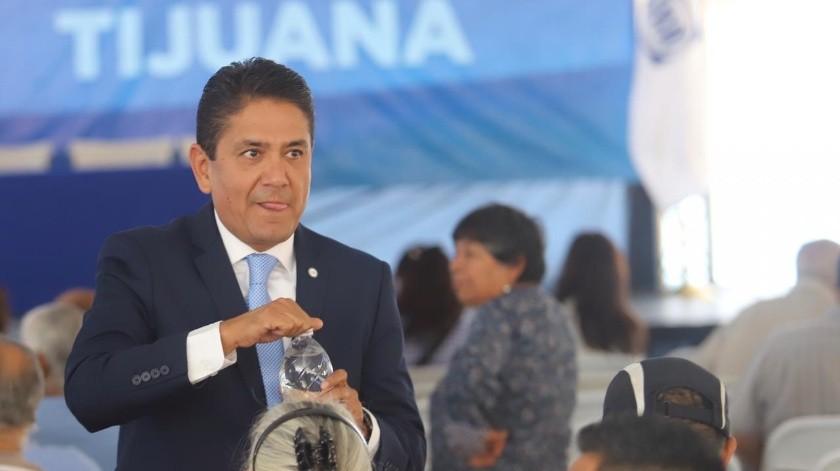 Luis Rodolfo Enríquez Martínez ganó la elección a presidente del Comité Directivo Municipal (CDM) del Partido Acción Nacional (PAN) en Tijuana2019 a 2022.(Gustavo Suárez)