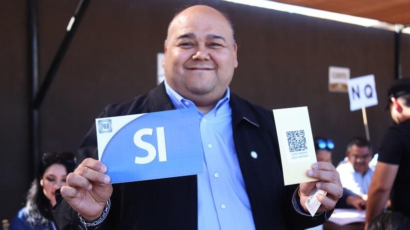 Es Antonio López Merino nuevo dirigente del PAN en Mexicali(Daniel Resendiz)