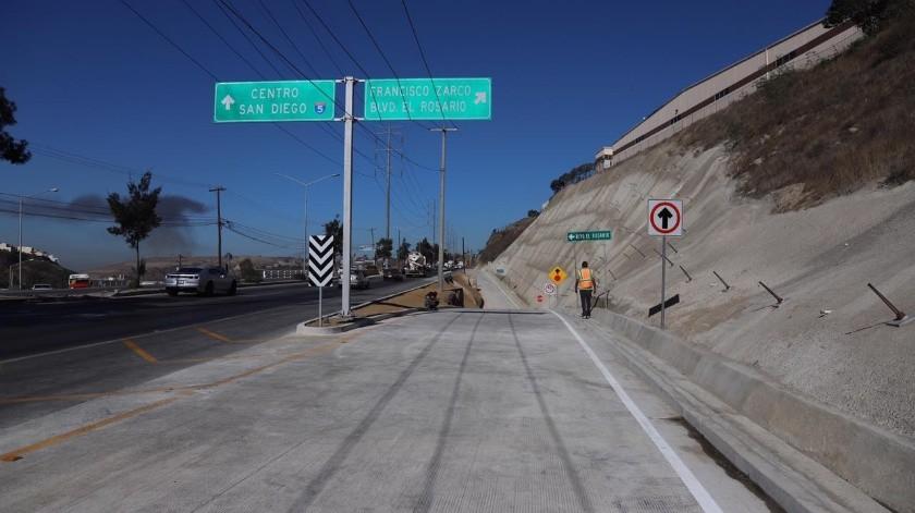 La obra ayudará a reducir los problemas de tráfico en la zona.(Sergio Ortiz)