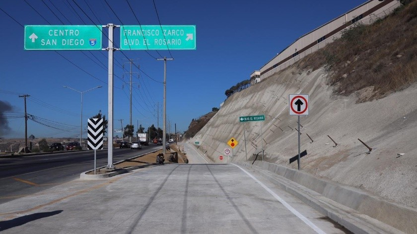 """El acceso ayudará a reducir """"sustancialmente"""" el tráfico en la zona tanto en el bulevar Fundadores como en el Cuauhtémoc.(Sergio Ortiz)"""