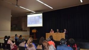 La presentación se realizó en la Sala Federico Campbell.
