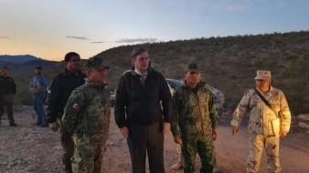 Marcelo Ebrard acude al lugar de la masacre contra la familia LeBarón