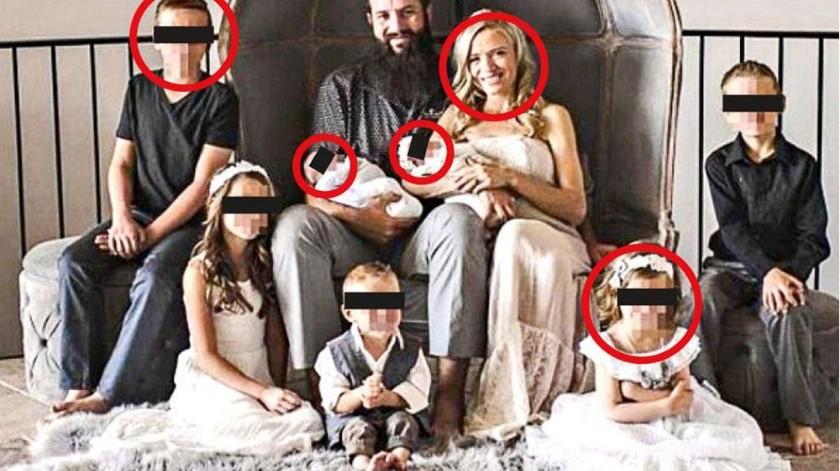 Integrantes de la familia LeBarón que fueron asesinados.(Agencia Reforma)