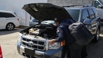 """Embarga SAT 22 autos """"chocolates"""" en Tijuana"""