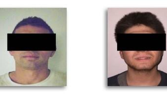 Los imputados son Manuel Alejandro N., de 26 años, originario de Mexicali, Baja California, e Isaiah Daniel N de 20 años, originario de San Diego, California.