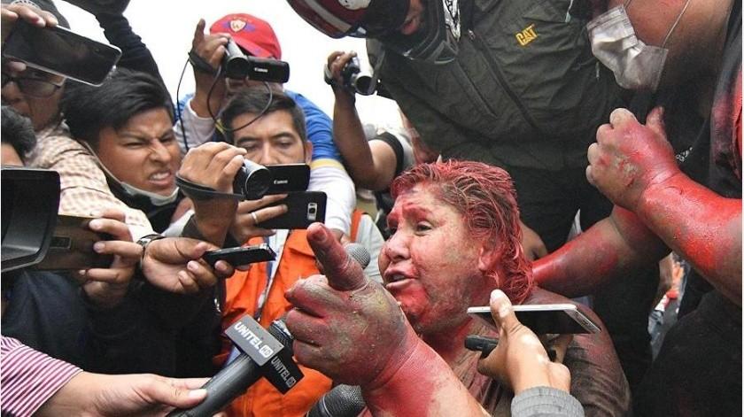 """La misión condenó los actos de violencia e hizo un """"llamado urgente a la calma"""" en Bolivia.(EFE)"""