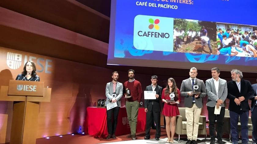 """CAFFENIO obtiene """"Premio Corresponsables-Comunicación Responsable"""""""