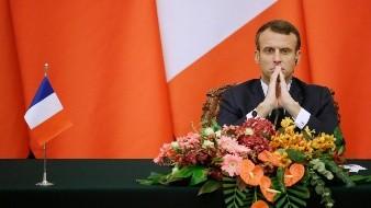 Lamenta Macron alejamiento de EU de la OTAN