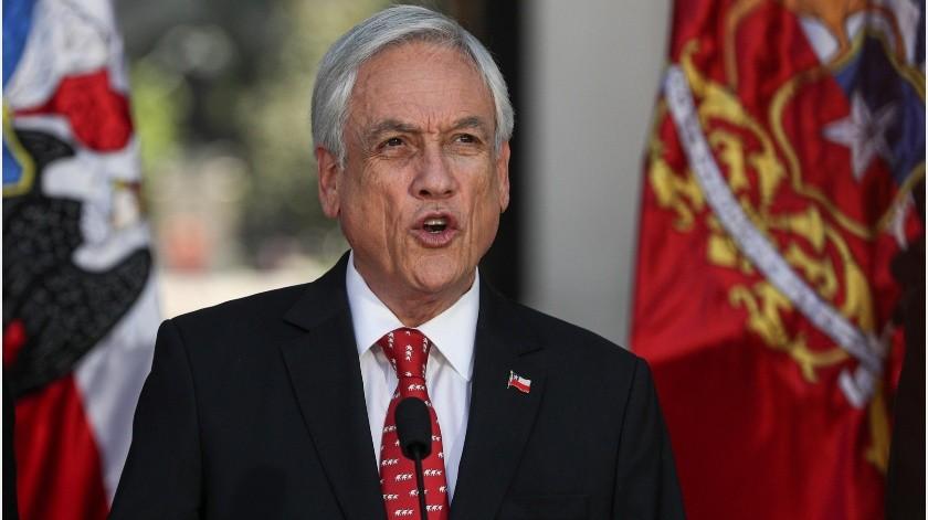 Las manifestaciones se fortalecieron tras los anuncios realizados más temprano por Piñera.(AP)