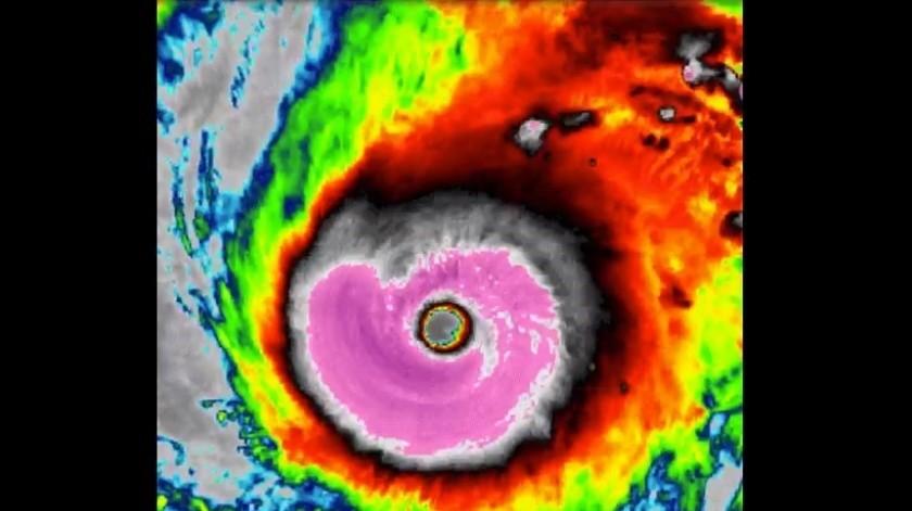 """Tifón """"Halong"""": Uno de los más potentes jamás visto en satélite(Captura de video)"""