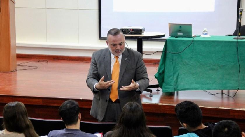 Miguel Ángel Badiola Montaño, presidente de la Canirac Baja California.(Cortesía)