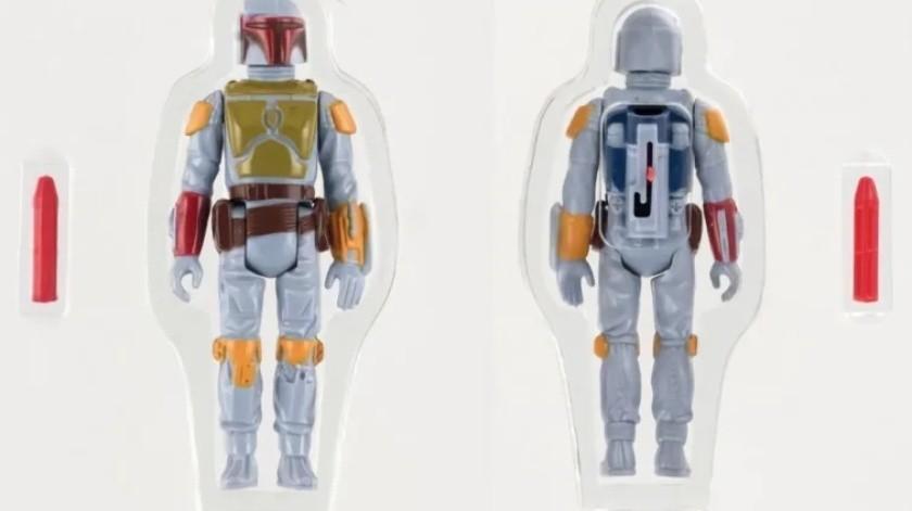 Alguien ha pagado casi 200 mil dólares por este juguete de Star Wars(Cortesía)