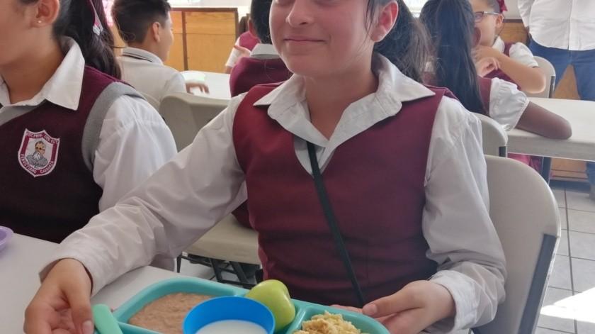 Esperan que desayunos escolares sean de beneficio para los alumnos(Archivo)