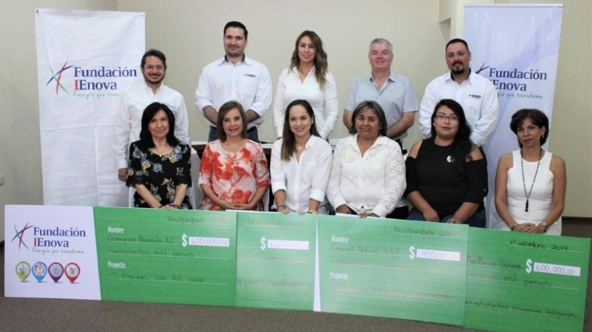 Reporta empresa encargada de gasoducto aportaciones en beneficio de comunidades yaquis.(Susana A. Arana)