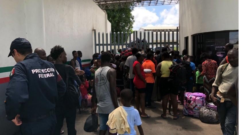 INM cancela entrega de visas a migrantes africanos en Chiapas(GH)