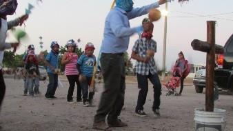 Danzan matachines al ritmo del corazón del niño Jesús