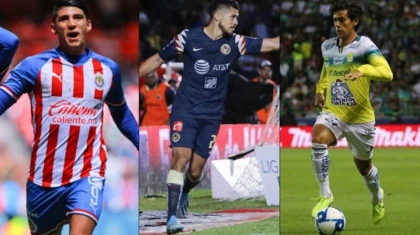 ¡Cómo antaño! Mexicanos entre los goleadores de la Liga MX(GH)