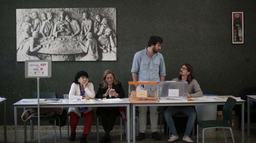 El Partido Socialista (PSOE) ganó las elecciones generales que se repitieron este domingo en España.(AP)