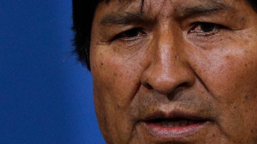 """""""Mi pecado es ser indígena"""": Evo Morales al dimitir de presidencia en Bolivia(AP)"""
