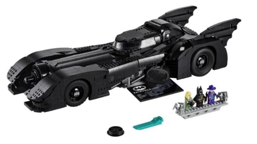 Lego lanza Batimóvil con 3 mil 300 piezas(Cortesía)