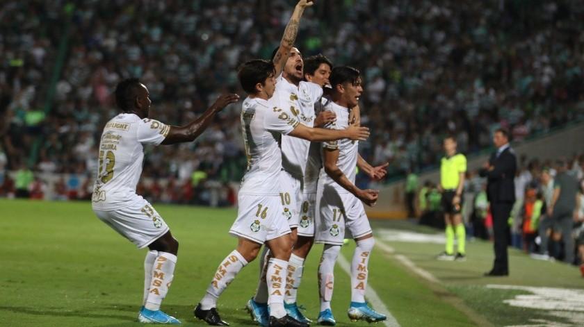 Con esto Santos mantuvo el invito en casa durante todo el certamen y alcanza 36 puntos en la competencia en el superliderato del Apertura 2019.