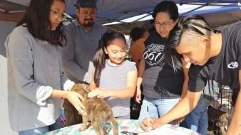 La familia Corona Cervantes es la nueva familia de la perrita rescatada hace unas semanas.