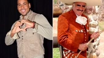 Romeo Santos ha expresado en distintas ocasiones la admiración que siente por Vicente Fernández, pero además de destacar su gran talento vocal, aseguró que el cantante de música regional mexicano podría ser un buen bachatero.