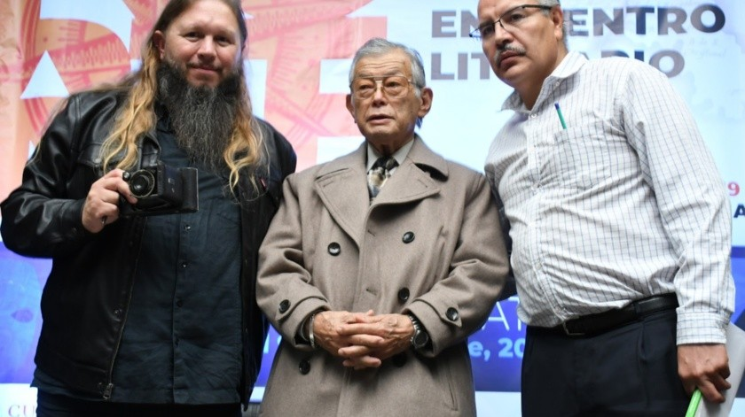 Daniel Salinas Basave, Genaro Nonaka y Gabriel Rivera.(Cortesía)
