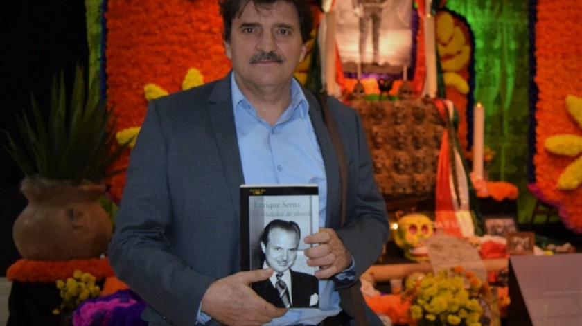 """Durante el lanzamiento de """"El vendedor de silencio"""" en el Encuentro Literario Norte 32°, se supo que el escritor obtuvo el premio José Emilio Pacheco 2020.(Cortesía)"""