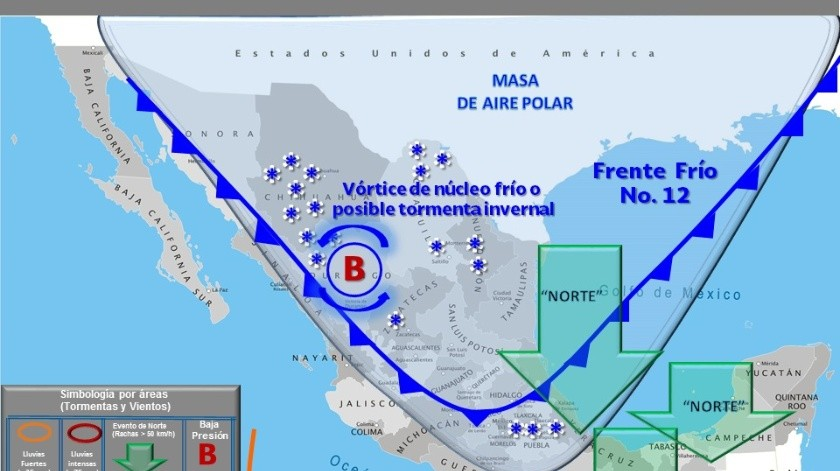 Una baja en la humedad y ligero aumento en temperaturas se esperan en Ensenada a partir de este martes 12 de noviembre, informó la Unidad Municipal de Protección Civil.(Cortesía)