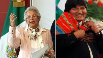 Segob recomienda a Evo Morales solicitar calidad de refugiado
