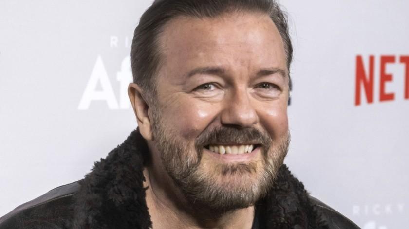Ricky Gervais dijo que los organizadores le hicieron una oferta que no pudo rechazar.(AP)