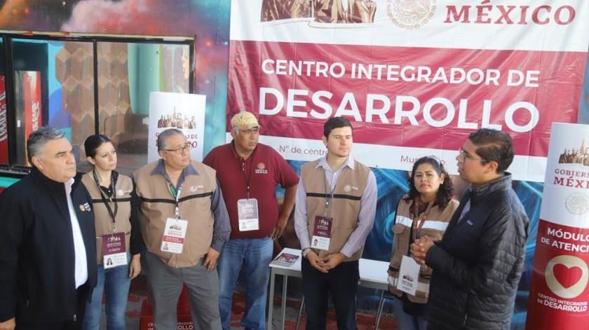 El Centro Integrador de Desarrollo fue inaugurado por autoridades.(Jesús Bustamante)