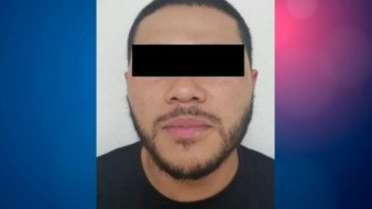 """El detenido está identificado como Jesús Alfredo """"N"""", """"El Pella"""", de 24 años de edad."""