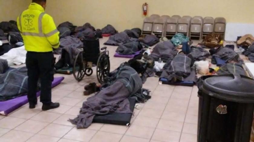 Instalan albergues en Chihuahua ante llegada de frente frío No. 12(Especial)