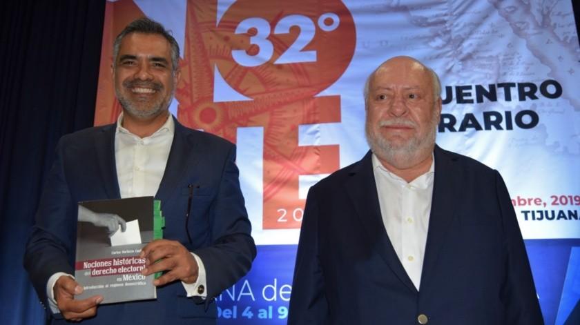 Carlos Barboza Castillo y Miguel Porrúa.(Cortesía)