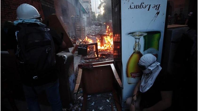 """El presidente chileno comentó que """"esta grave situación de violencia y de delincuencia atenta severamente"""" contra la democracia, el estado de derecho y contra las libertades de los chilenos.(EFE)"""