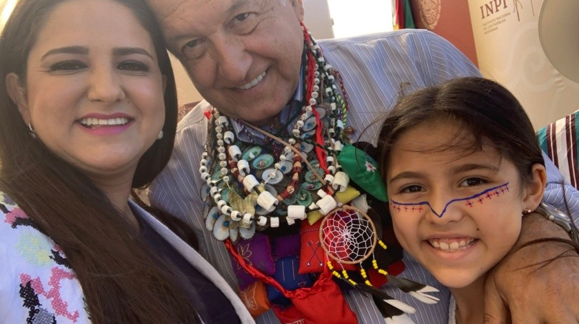 López Obrador cumple 66 años este miércoles 13 de noviembre.(@CelidaLopezc)