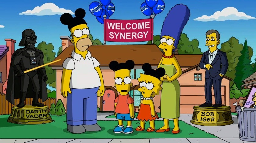 Elimina Disney capítulo de Los Simpson.