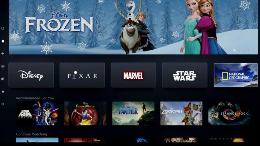 Disney Plus llega a 10 millones de suscriptores en 1 día(Tomada de la Red)