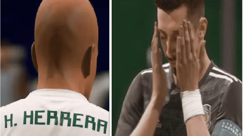 ¡De pelón a Hermoso! Transforman a Héctor Herrera en FIFA 20(Especial)