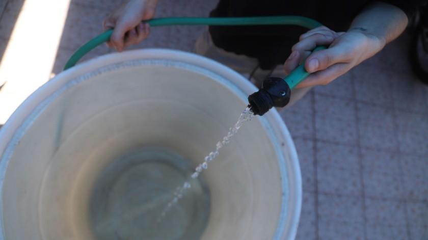 Corresponde a la Sección 3 el racionamiento de agua.
