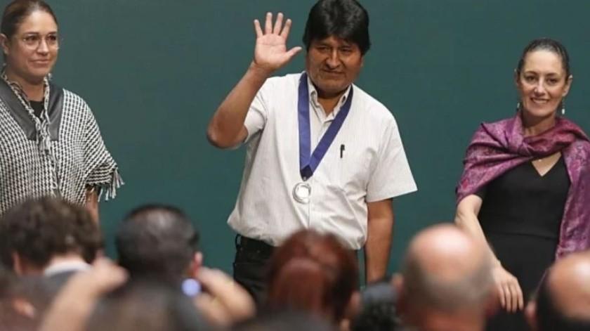 Nombran a Evo Morales huésped distinguido de la CDMX(El Universal)