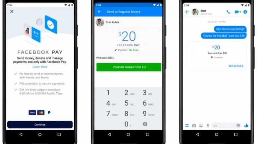 Facebook Pay, el nuevo servicio de pagos para Facebook, WhatsApp, Instagram y Messenger(Hipertextual)