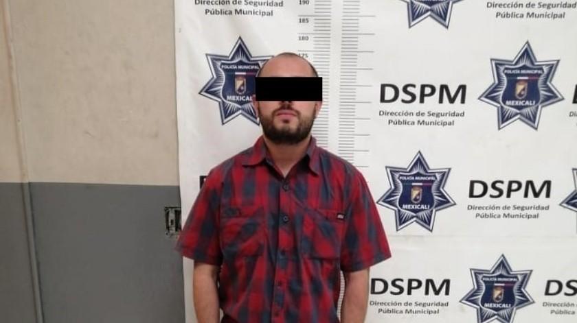"""Arrestan al homicida """"El Démok"""" por robo con violencia(Cortesía)"""