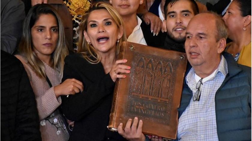 """Desde su asilo en México, Morales denunció que """"el golpe de Estado que provoca muertes de mis hermanos bolivianos es una conspiración política y económica que viene desde EE.UU.""""(EFE)"""