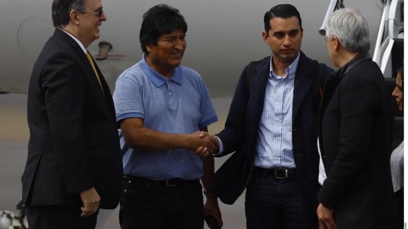 Ebrard mandará bitácora de asilo de Evo Morales al Senado(GH)