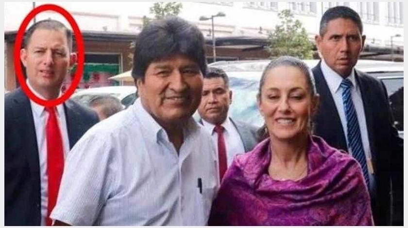 ¿Reaparece con Evo Morales el Estado Mayor Presidencial?(GH)